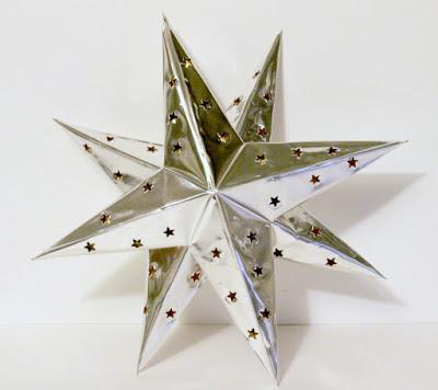 Metal Embossing Foil Stars